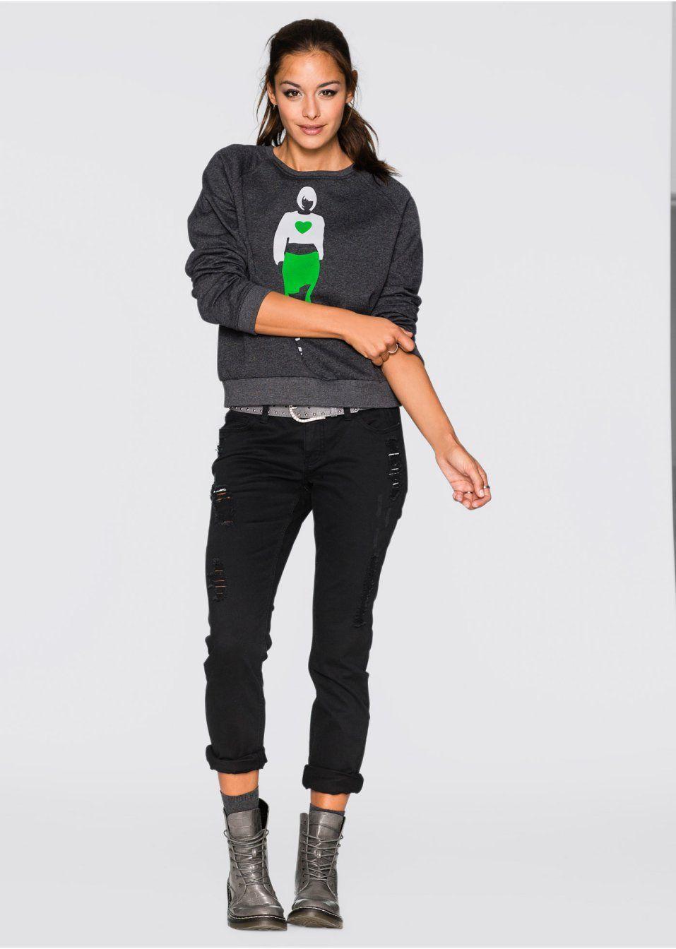 Bluza Modna bluza z atrakcyjnym • 79.99 zł • bonprix
