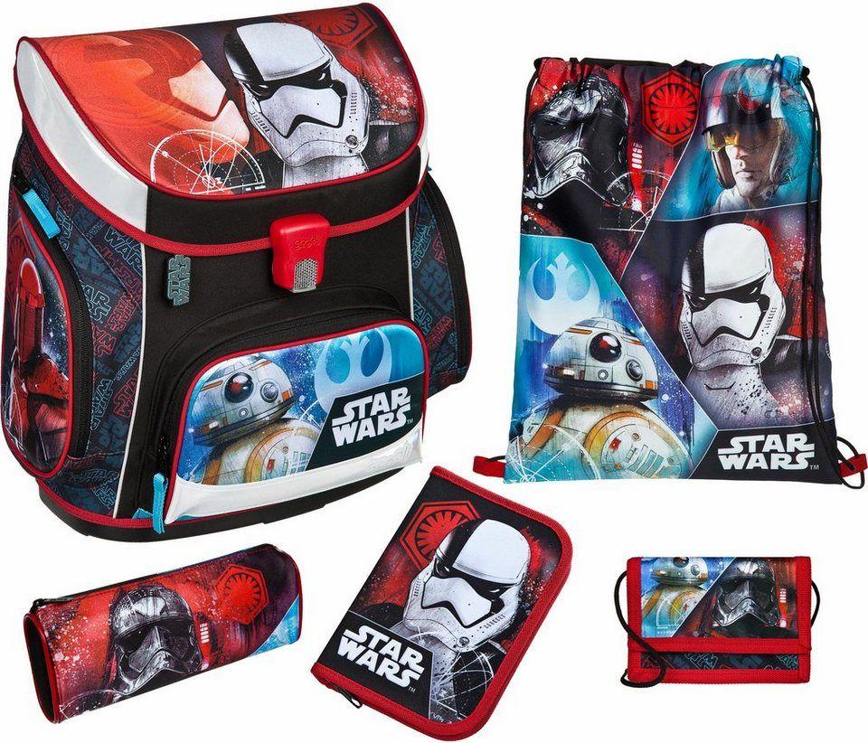23b44fe0d542 Scooli Schulranzen Set 5-tlg., »Campus Up Star Wars™« | Fashion ...