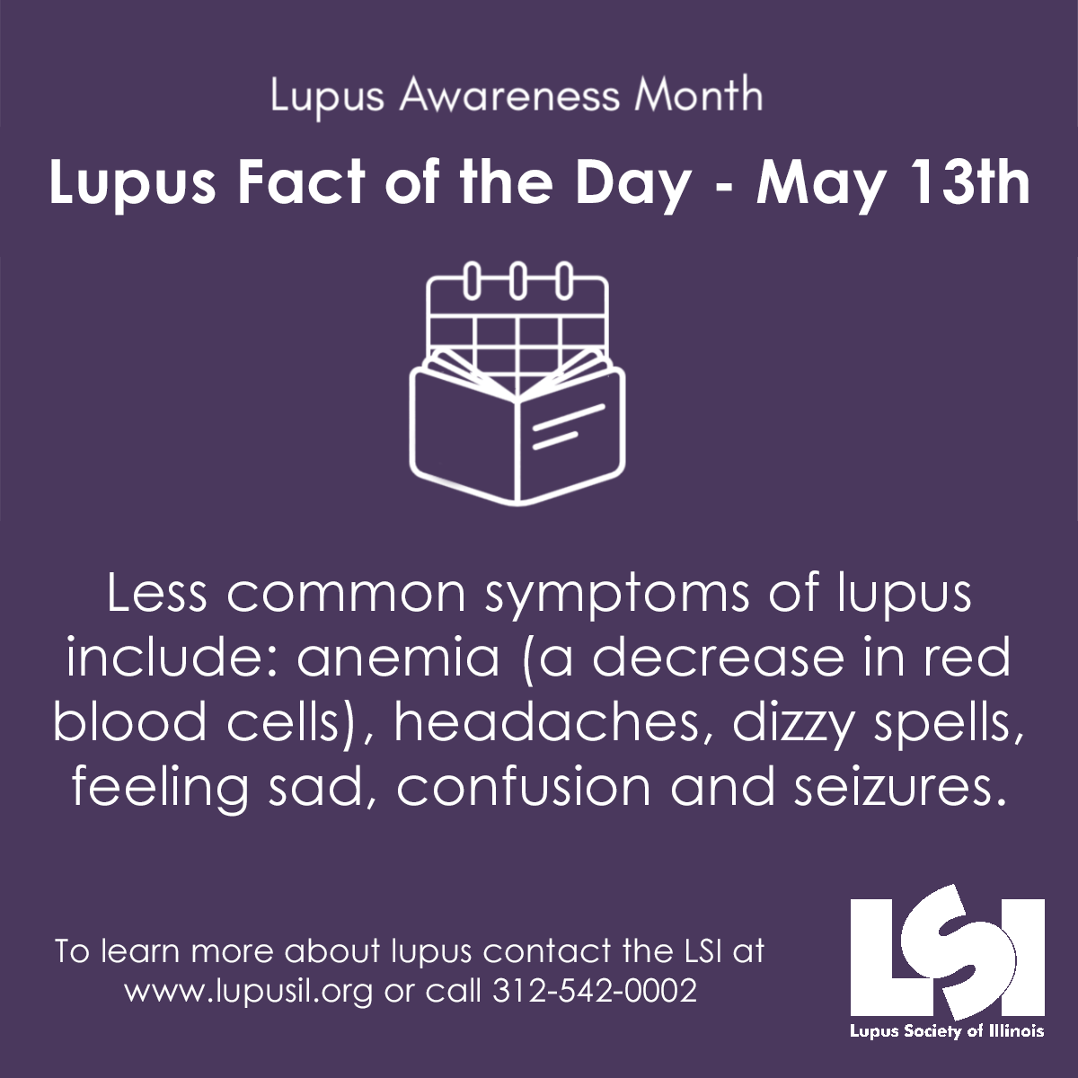 Can You Get Disability For Fibromyalgia In Illinois Lam2019lsi Lupus Facts Lupus Awareness Lupus Day