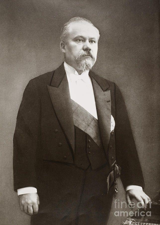 Raymond Poincare Photograph 1913