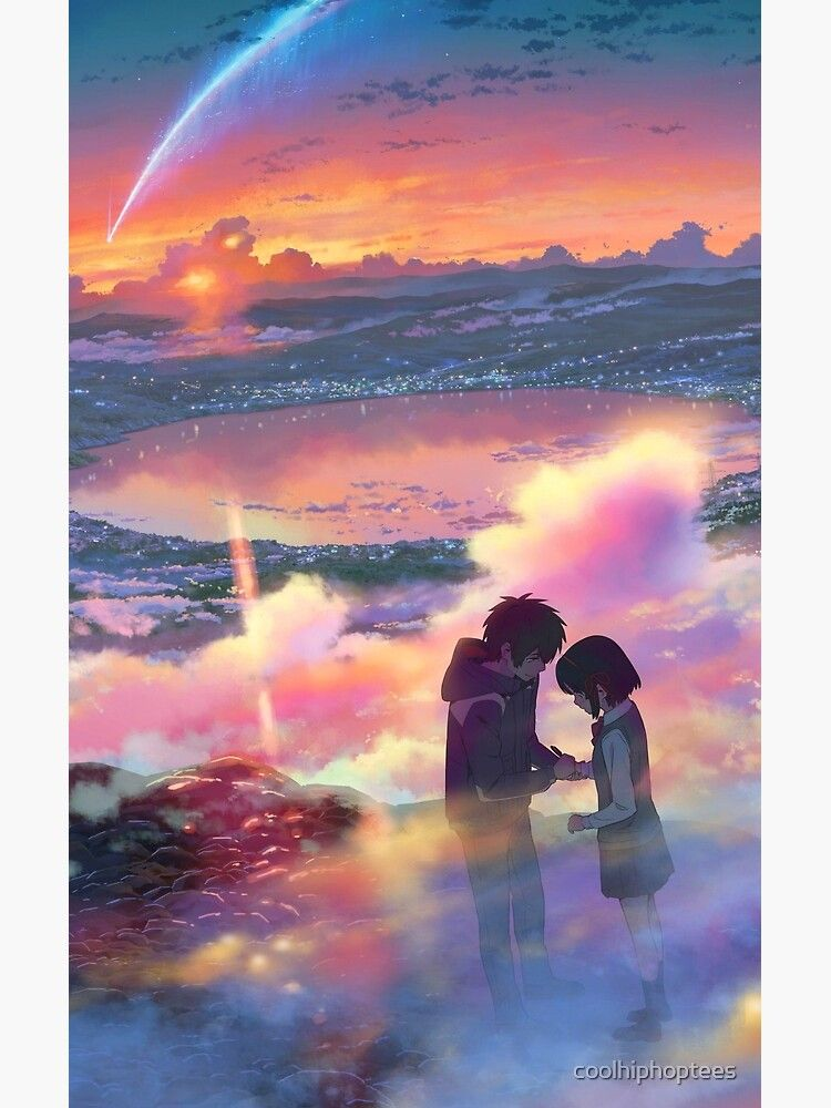 Your Name Poster - Kimi No Na Wa Anime Poster Poster by coolhiphoptees
