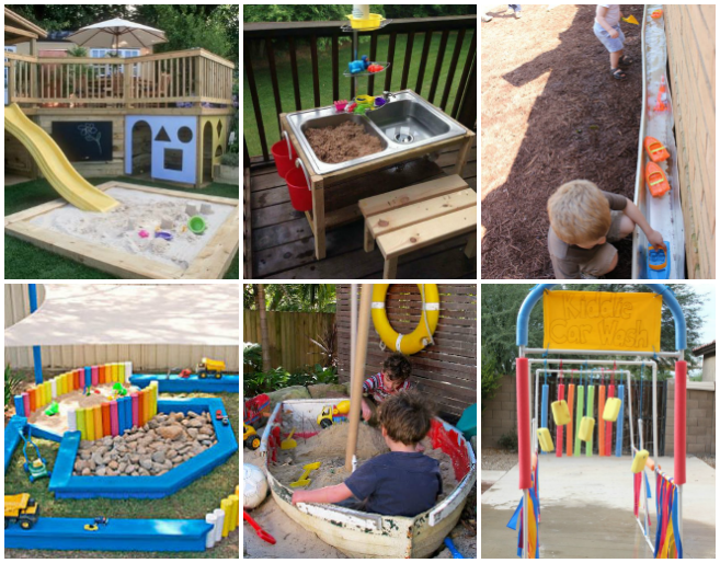 Backyard Play Space Ideas For Kids Backyard Play Spaces - Backyard play ideas