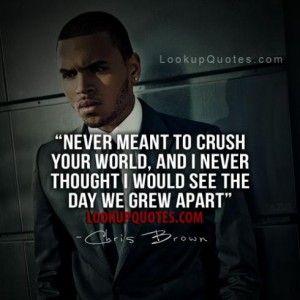 chris brown sad quotes