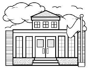 school coloring pages 05 - School Coloring Sheets