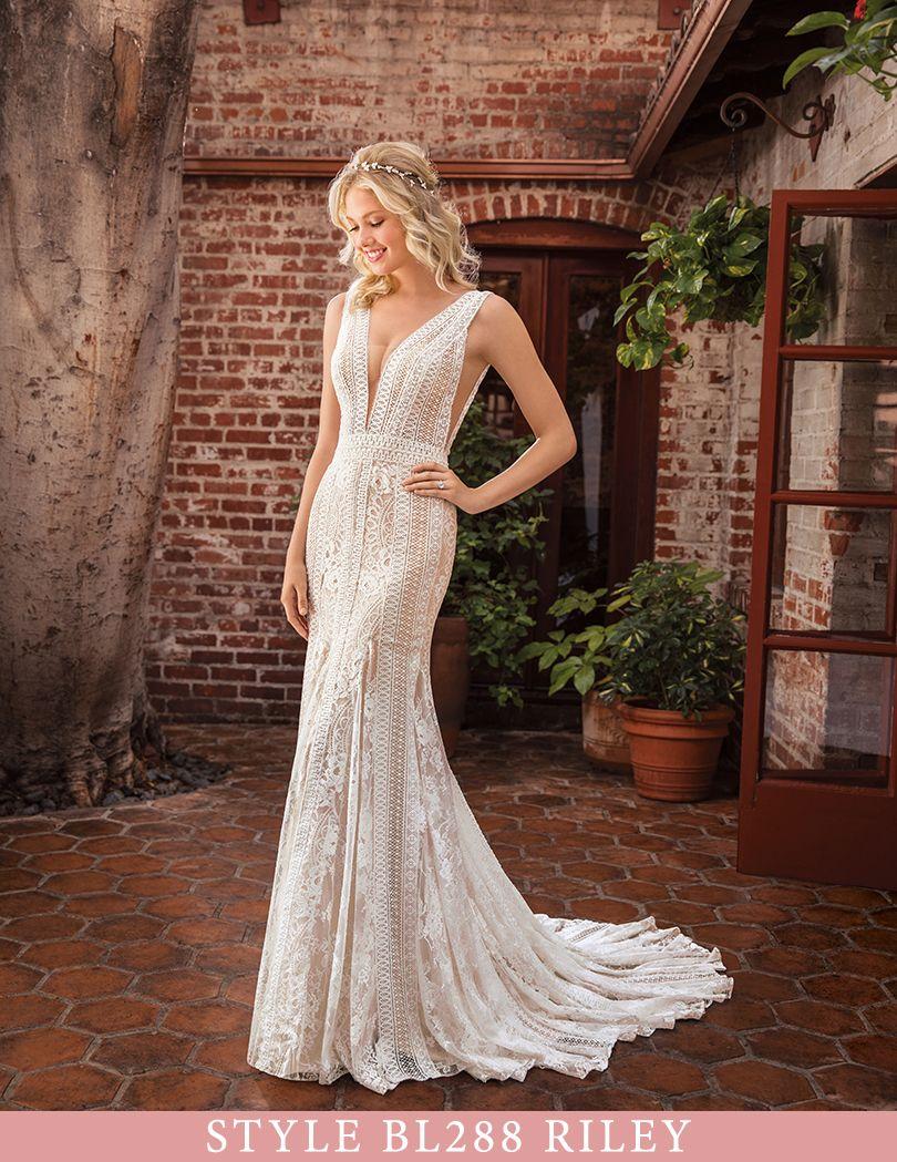 Exclusive First Look at Casablanca Bridal Spring 2019