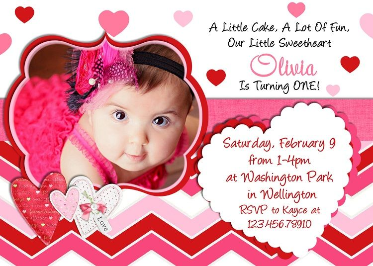 First Birthday Invitation Sayings