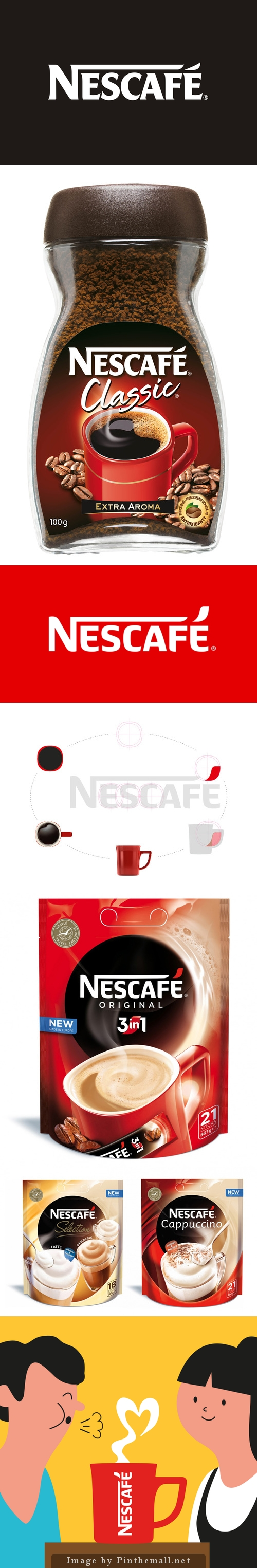Before & After: Nescafé Unveils New Logo and Global Branding