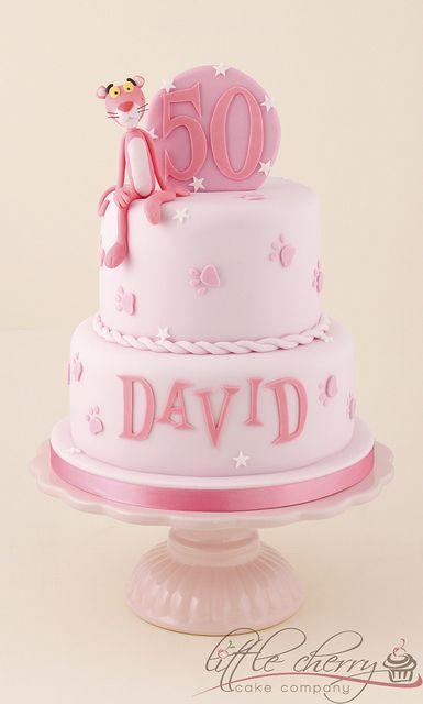 Pink Panther Cake Con Imagenes Pastel De Dulces Decoracion