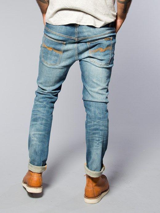 thin finn organic sang bleu nudie jeans co online shop. Black Bedroom Furniture Sets. Home Design Ideas
