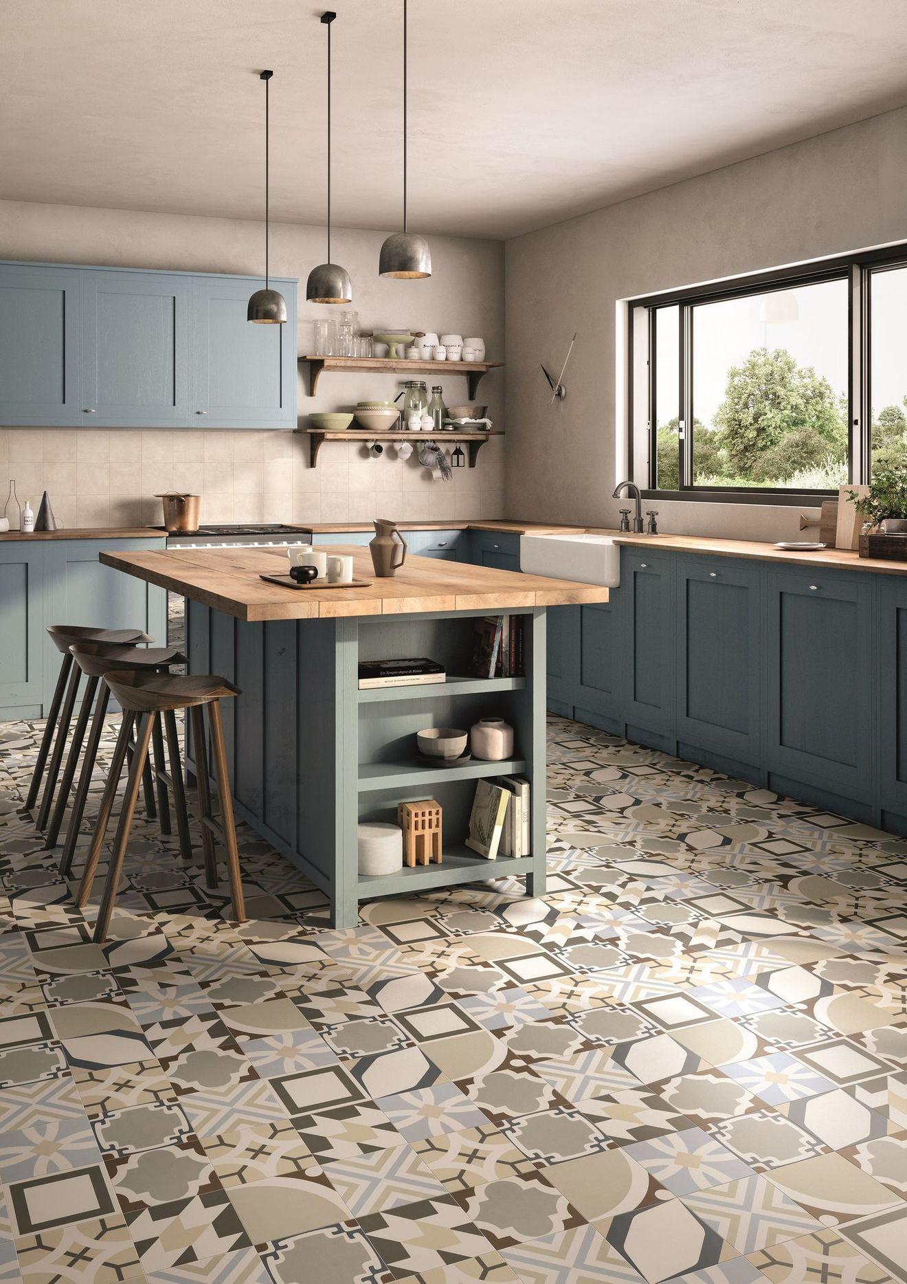 Modele De Carrelage Sol carrelage cuisine sol et mur : 20 modèles | carrelage