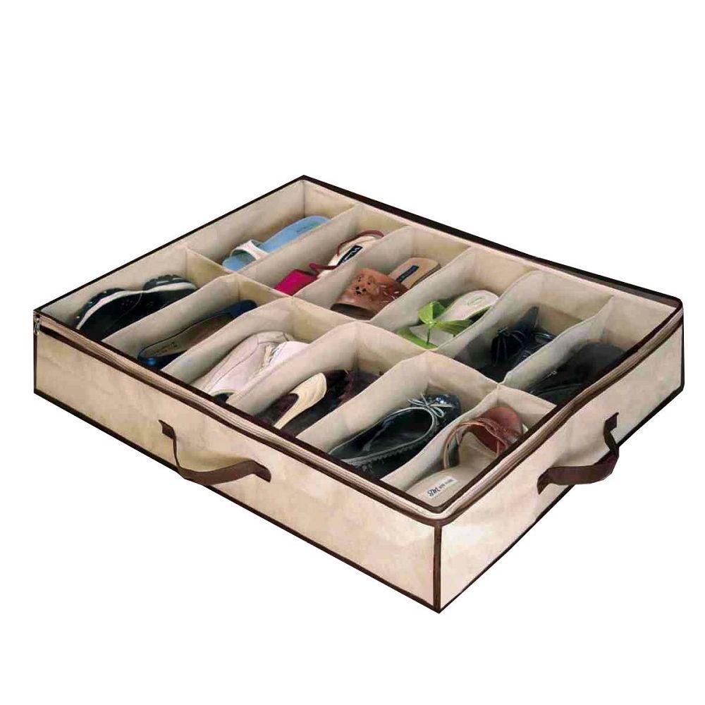 Underbed Shoe Storage Organizer Awesome Ideas