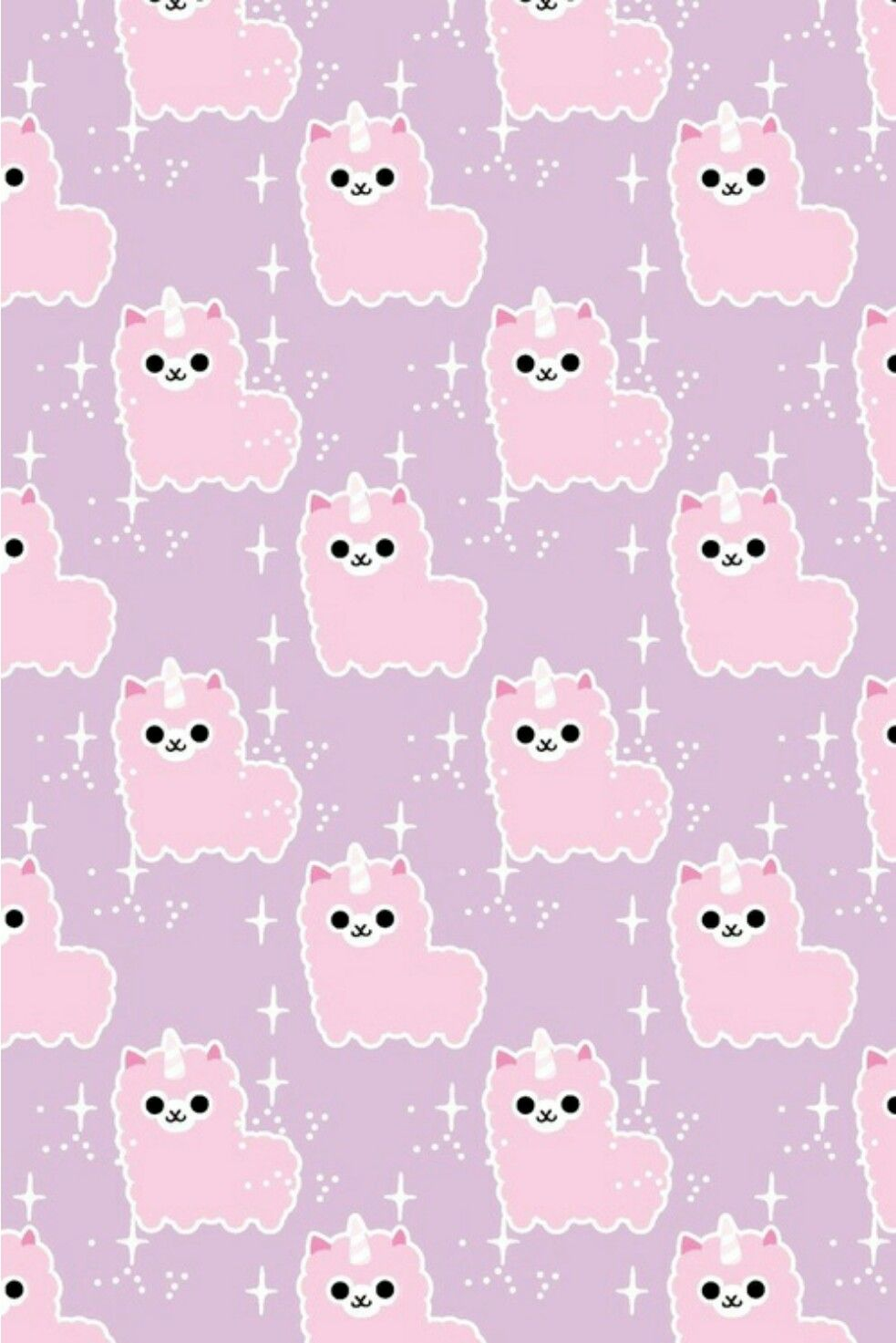 Wallpaper Kawaii Lama Wallpaper Kawaii Nel 2019 Schema Di Sfondo