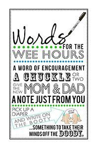 photo regarding Words for the Wee Hours Free Printable named Free of charge PRINTABLE: Small Gentleman Child Shower \u201cWords for the Wee