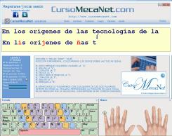 Curso Mecanet Portable Página Oficial Mecanografia Escribir Más Rápido Con Mecanet Enseñando A Escribir Cursillo Rostro De Jesús