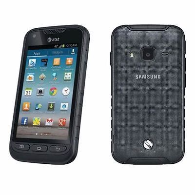 New Unlocked Samsung Galaxy Rugby Pro I547 (AT&T) GSM Rugged SmartPhone Black