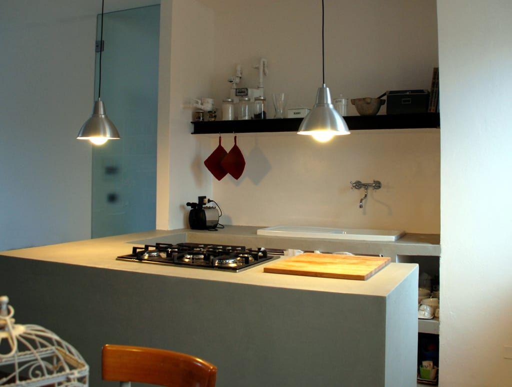 Attico cesena cucina minimalista di andrea nicolini architetto minimalista