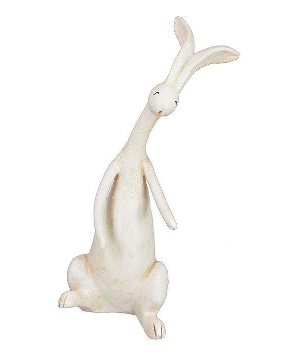 Look at this #zulilyfind! Party Bunny Figurine by Fantastic Craft #zulilyfinds