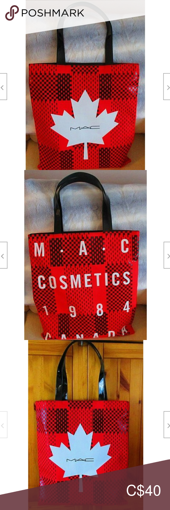 MAC Proud to Be Canadian Tote Limited Edition NEW Womens