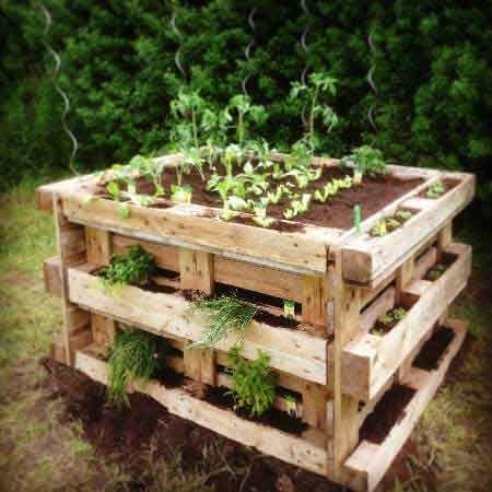 zum fertigen hochbeet aus paletten in weniger als 2 stunden, Garten und erstellen