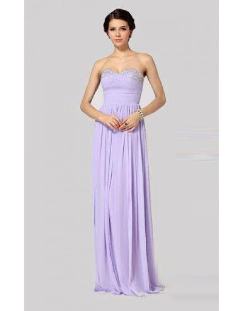 Light Purple BCBG Max Azria Strapless Sequin Long Prom Gown | 2014 ...