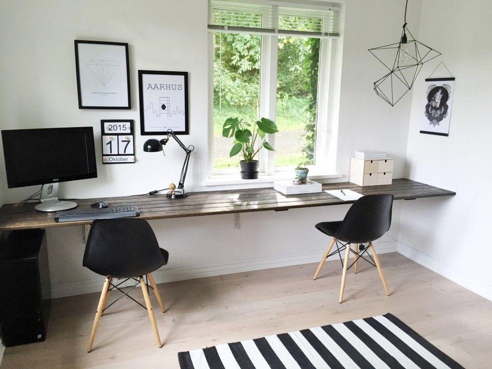 L 230 Rkeplanker Office Space I 2019 Skrivebord Indretning