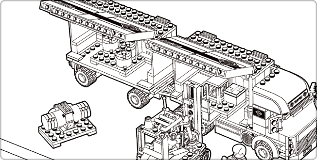 LEGO.com City : Downloads - Coloring Pages - Coloring Page - Cargo ...