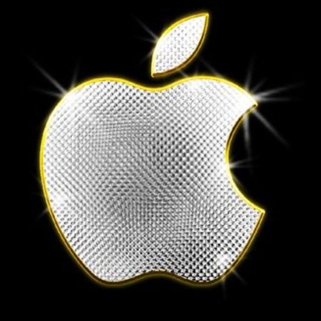 apple logo wallpaper gold. gold apple logo - bing images wallpaper d