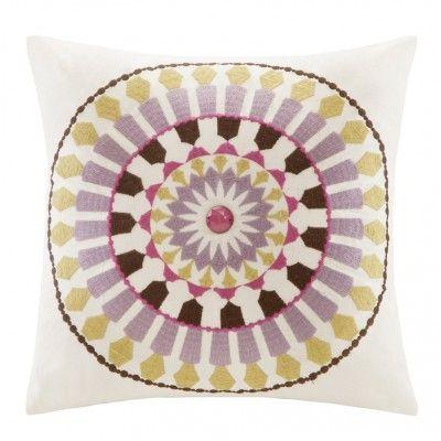 Fun Pillows For Spring Square Throw Pillow Paisley Bedding