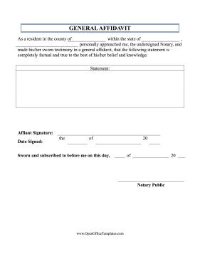 Basic Affidavit Notary Signing Agent Legal Humor Motherhood Funny