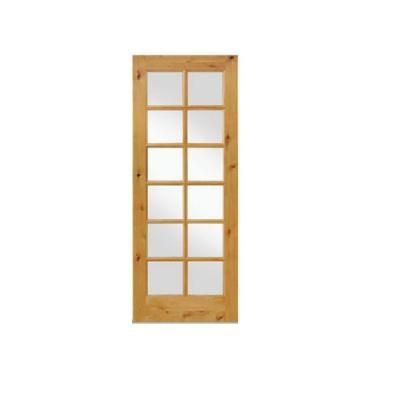 Krosswood Doors 28 In X 96 In Rustic Knotty Alder 12 Lite Tdl Wood Stainable Interior Door Slab Ae 4222896slb The Home Depot Prehung Interior Doors Wood Doors Interior Wood Exterior Door