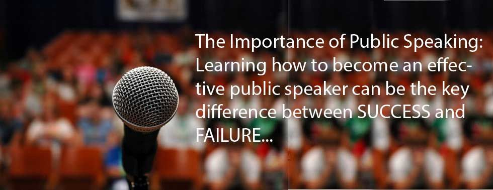 Public Speaking: The importance of listening