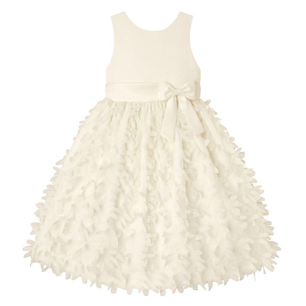 Girls 7 16 Plus Size American Princess Petal Applique Dress Applique Dress Mother Of The Bride Dresses Long Kohls Dresses [ 1024 x 1024 Pixel ]