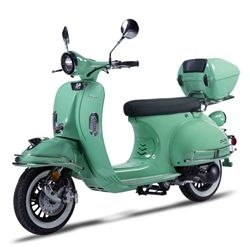 Znen 150cc 4 Stroke Fully Automatic Gas Moped Scooter - VES
