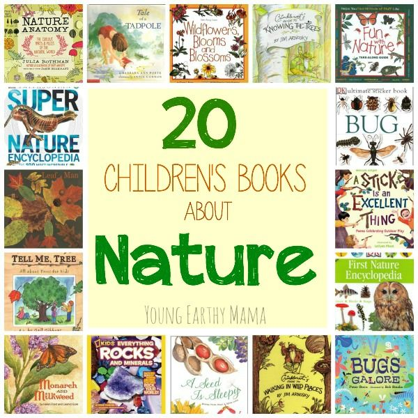 20 Children S Books About Nature Homeschool Nature Study Childrens Books Childrens Reading