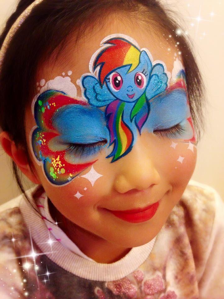 My Little Pony one stroke rainbow