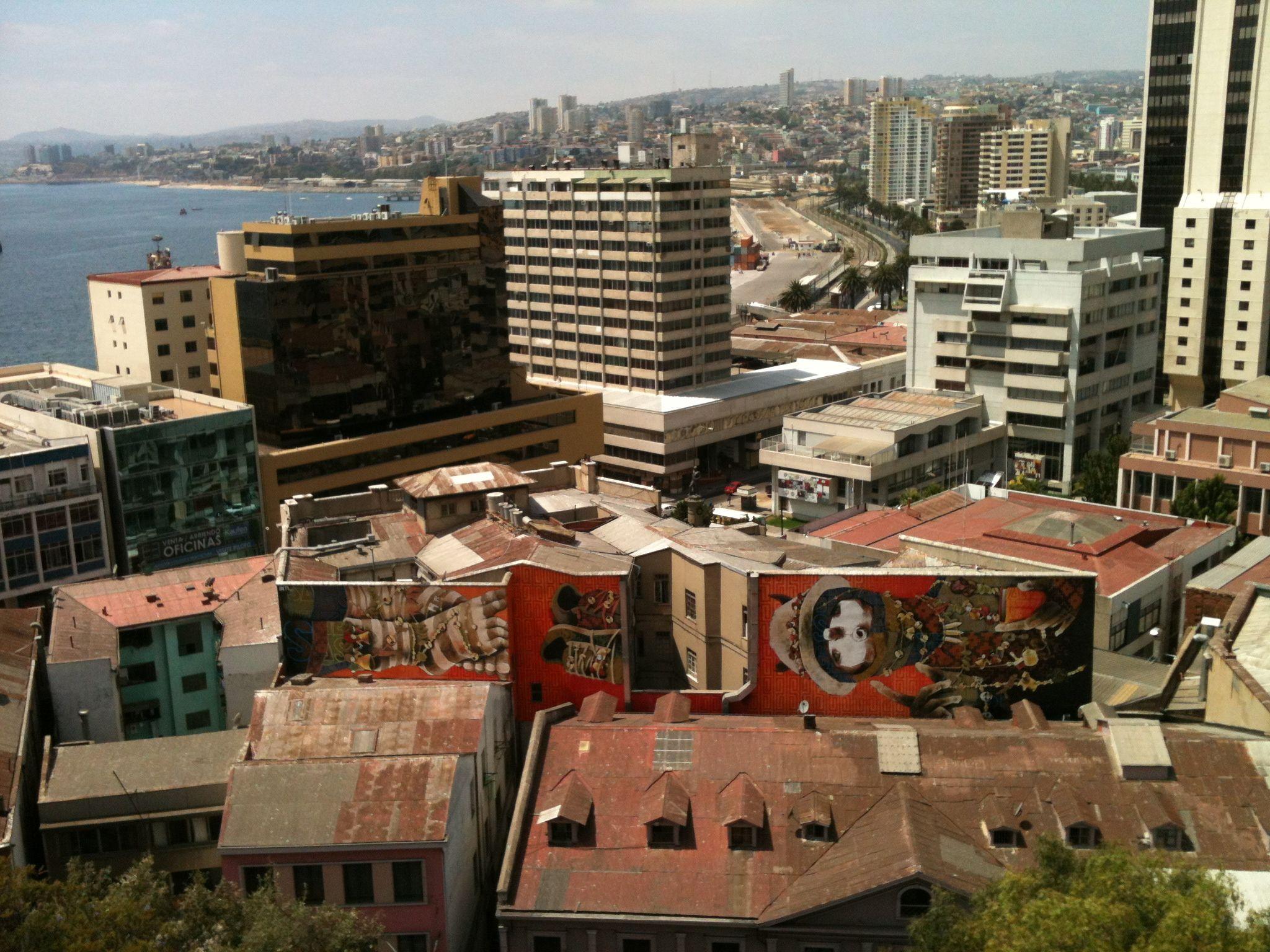 Valparaíso  grafitti!