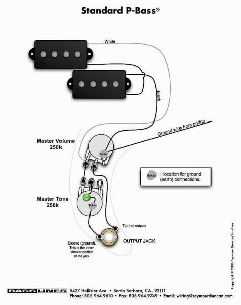 Fender Precision Bass Wiring Diagram Plush P Best Of Fender Precision Bass Bass Guitar Pickups Bass Guitar Chords