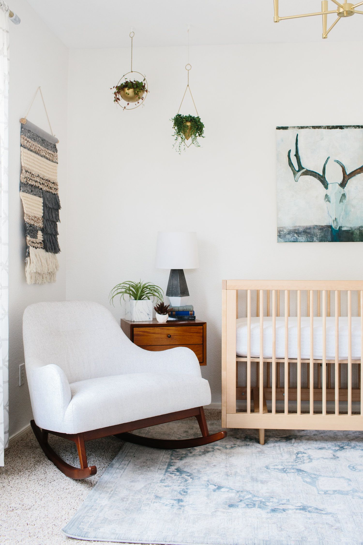 bianco century crib naturale mid wood products modern solid pavone palitaly baby pali cribs