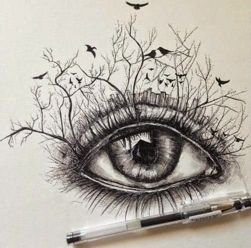 cool pencil drawing