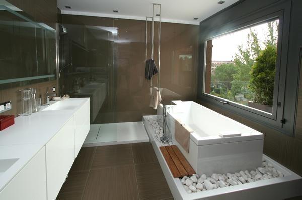 las piedras tambien dentro | Cuartos de baño, Baños ...