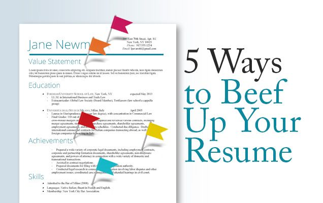 Resume Tips Realistically Beef Up Your Chances Resume Tips Resume Resume Skills