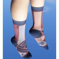 Photo of On High Sock clothing women red On