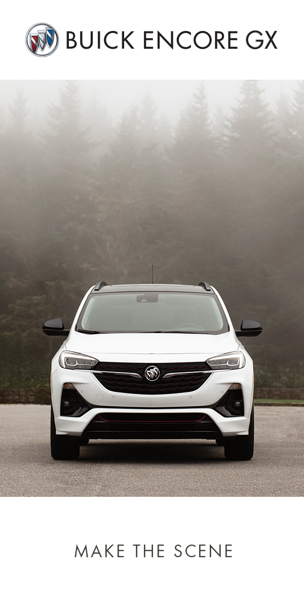 Stand Out In Any Setting In The Buick Encore Gx Small Suv Buick Buick Encore