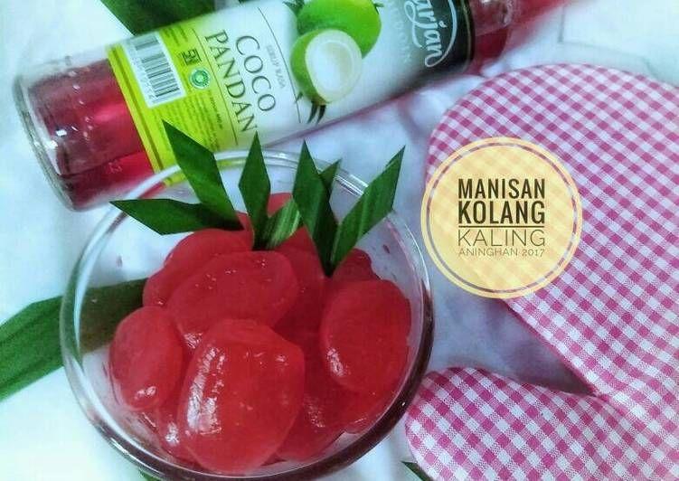 Resep Manisan Kolang Kaling Dengan Sirup Marjan Coco Pandan Oleh Aning Han Resep Coco Resep Cemilan