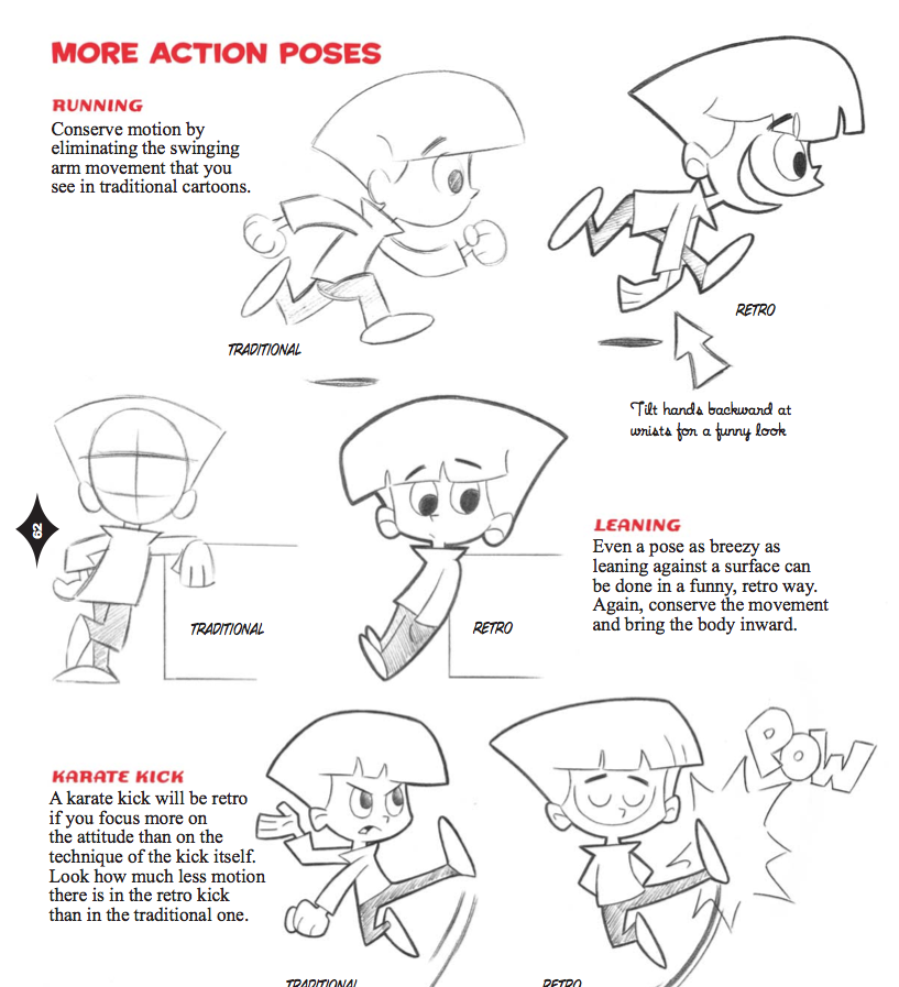 how to draw new retro style characters