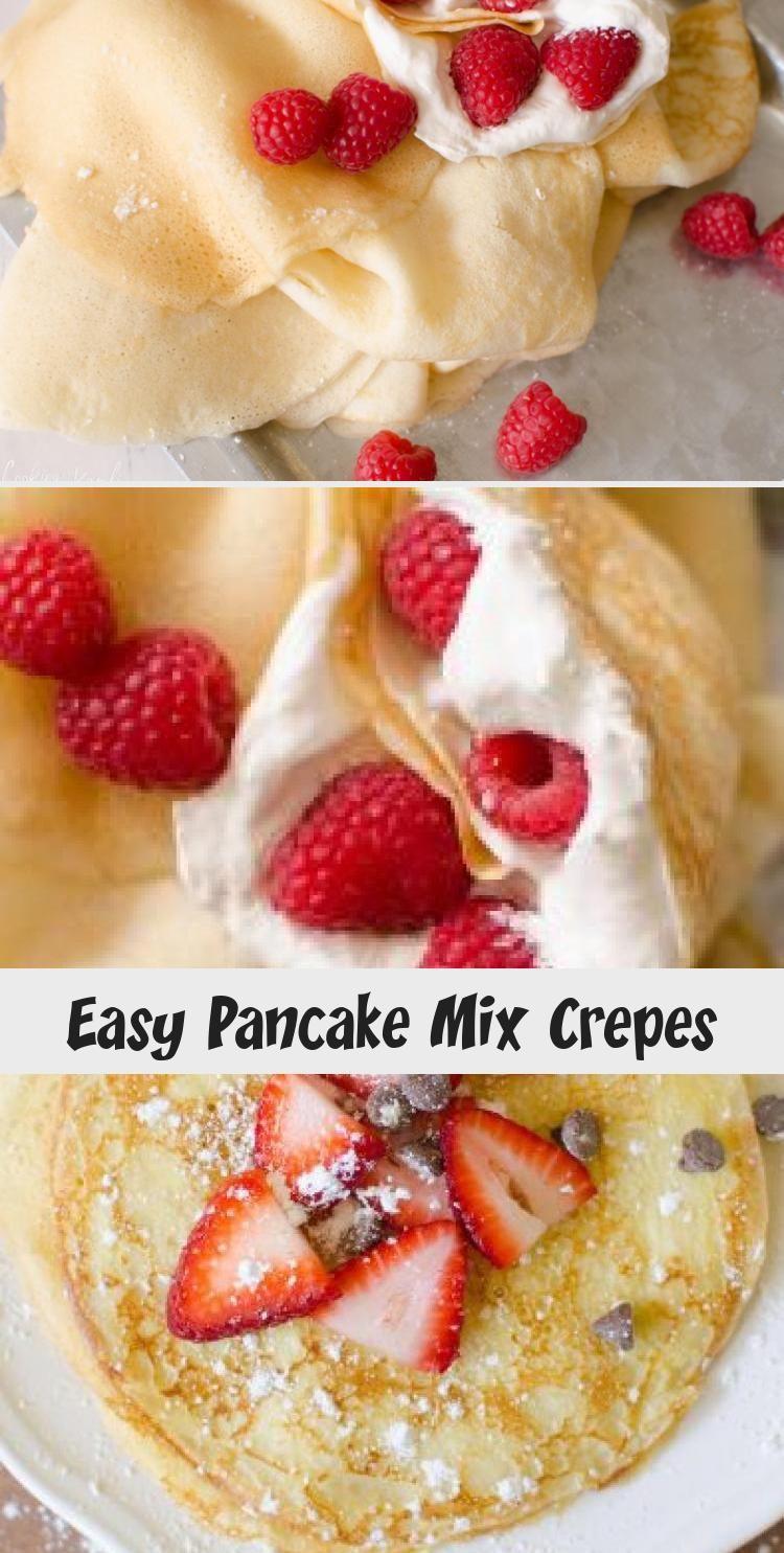 Easy Pancake Mix Crepes Cake In 2020 Easy Pancake Mix Pancakes Mix Sweet Crepes,10 Year Wedding Anniversary Cake