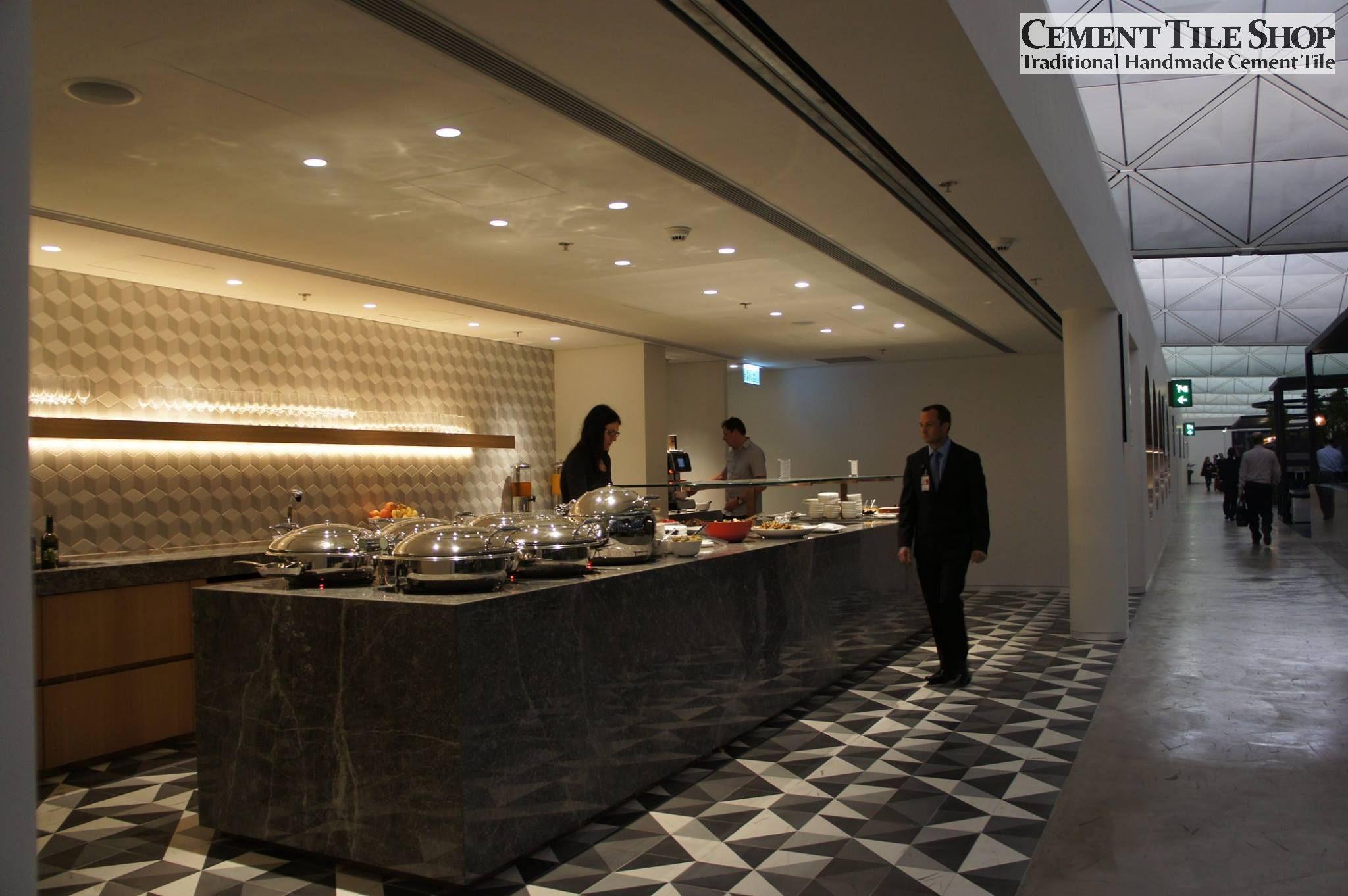 Cement Tile Shop - Encaustic Cement Tile: Projects   Hotel   F&B ...