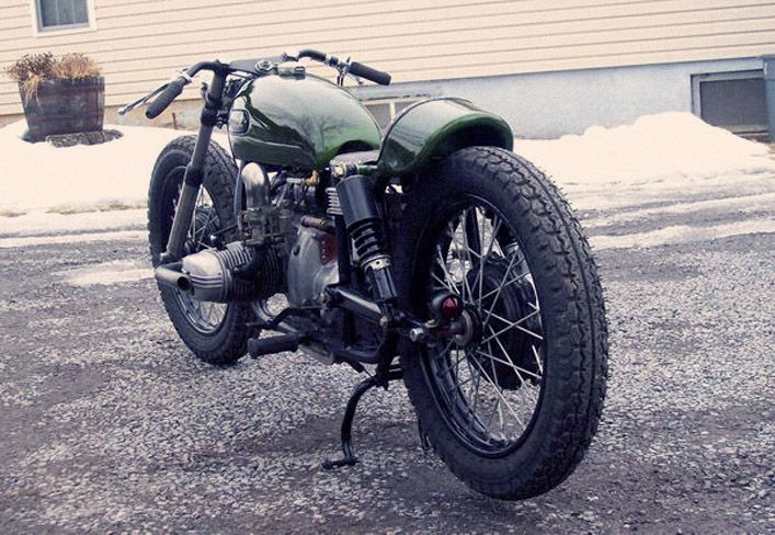 This raked URAL from SAINT is hitting the bay in a few days. Not sure what it will be listed under…Post Apocalyptic Law Enforcement Velocipede? Industrial Machine Age Bicycle? Limbo equipment?