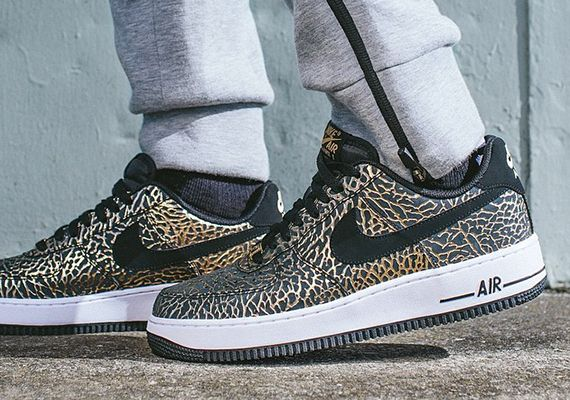 Nike Air Force 1 Limited Edition Canvas Urban Print