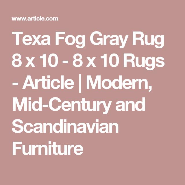 Texa Fog Gray Rug 8 x 10   Walnut coffee table ...